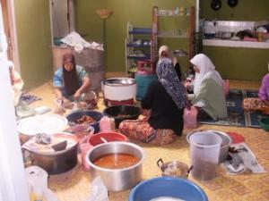 Wira Usaha Pemula pada jasa kuliner (Foto:maritim/dok)