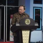 Sekretaris Badan Riset dan Sumber Daya Manusia Kelautan dan Perikanan Dr Maman Suherman menegaskan mutu manusia perikanan Indonesia harus bertaraf global untuk persaingan dunia (Foto:maritim/dok/henry)