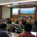 Para peserta rapat kerja teknis yang berlangsung pada 24-26 April 2019 di Yogya (Foto:maritim/brsdm)