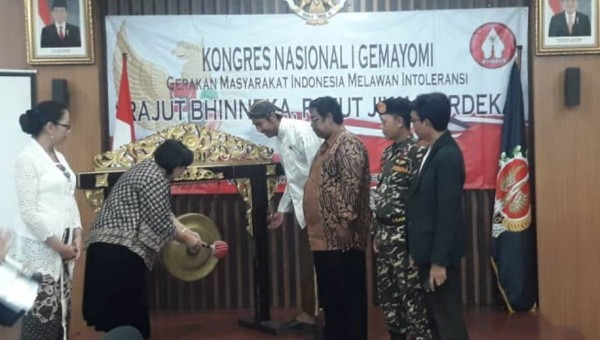 Kongres Gemayomi I: Rajut Bhinneka Rajut Padu Jiwa Merdeka Untuk Toleransi dan Persaudaraan Bangsa