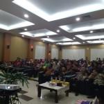 Suasana pembukaan Kongres I Gemayomi yang diikuti 300 orang dari unsur Pemerintah, TNI-Polri dan beragam  komunitas masyarakat (Foto:maritim/dok)