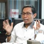 Deputi Bidang Kelembagaan Kementerian Koperasi dan UKM Luhur Pradjarto,SE,MM (Foto:maritim/rori)