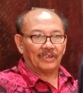 Ketua Umum eSPeKaPe Binsar Effendi Hutabarat mengencam pembentukan anak perusahaan PT Pertamina di Singapura (Foto:maritim/roni)