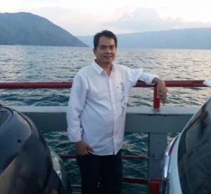 Pemerhati pariwisata dunia yang telah melanglang destinasi wisata kelas dunia Ricardo Hutabarat (Foto:maritim/roni)