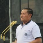 Laksamana Yudo Margono berkata Marinir tetap loyal kepada negara dan rakyat Indonesia (Foto:maritim/henry)