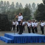 Semangat perang dan profesionalisme harus tetap dijaga sebagian dari berolahraga (Foto:maritim/henry)