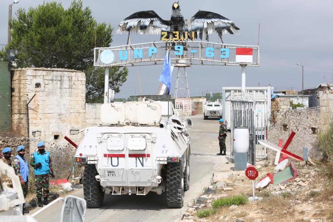 TNI masuksi garis pertempuran Lebanon-Israel pada akhir Juni 2020 (Foto:maritim/dok-puspen tni)