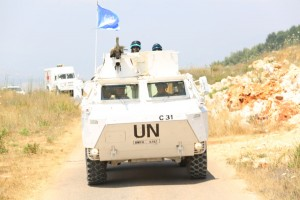 Konvoi latihan untuk melerai perang antara Israel-Lebanon (Foto:maritim/dok-puspen tni)