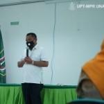 Bupati Kepulauan Tanimbar, Provinsi Maluku Petrus Patloloan, SH,MH berkata agar kerjasama yang dibuat segera ditindaklanjuti secara nyata (Foto: sembada/pr-unas)