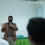 Wakil Rektor Unas  Bidang Akademik Prof Dr Iskandar menyebutkan lembaganya terbuka bagi pemerintah kabupaten atau provinsi mananpun untuk melakukan kerjasama di berbagai bidang (Foto:sembada/pr-unas)